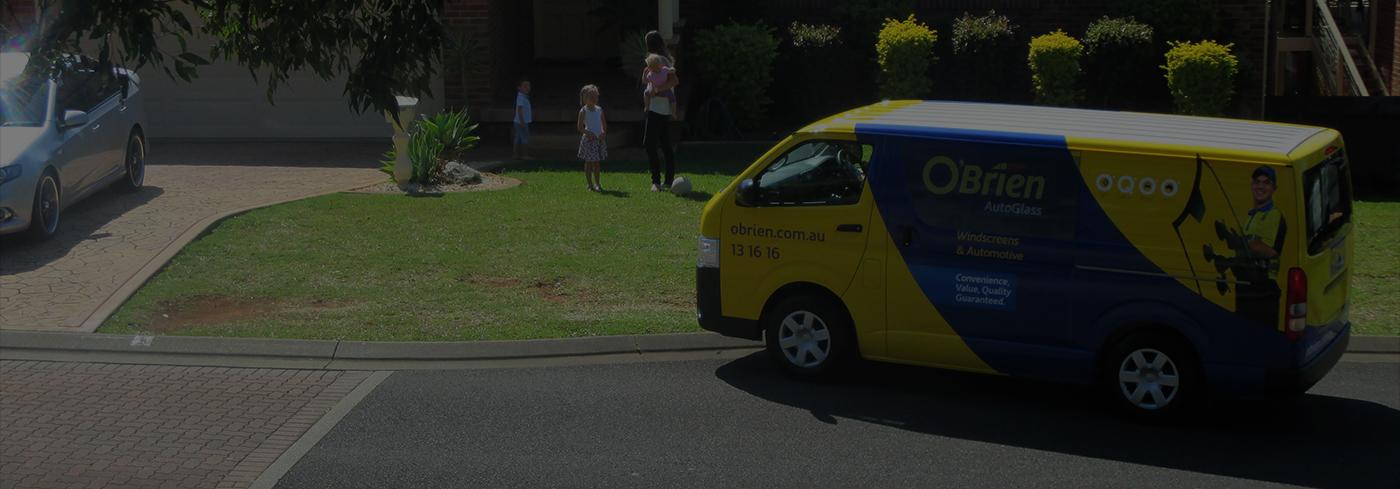 O'Brien® van on site