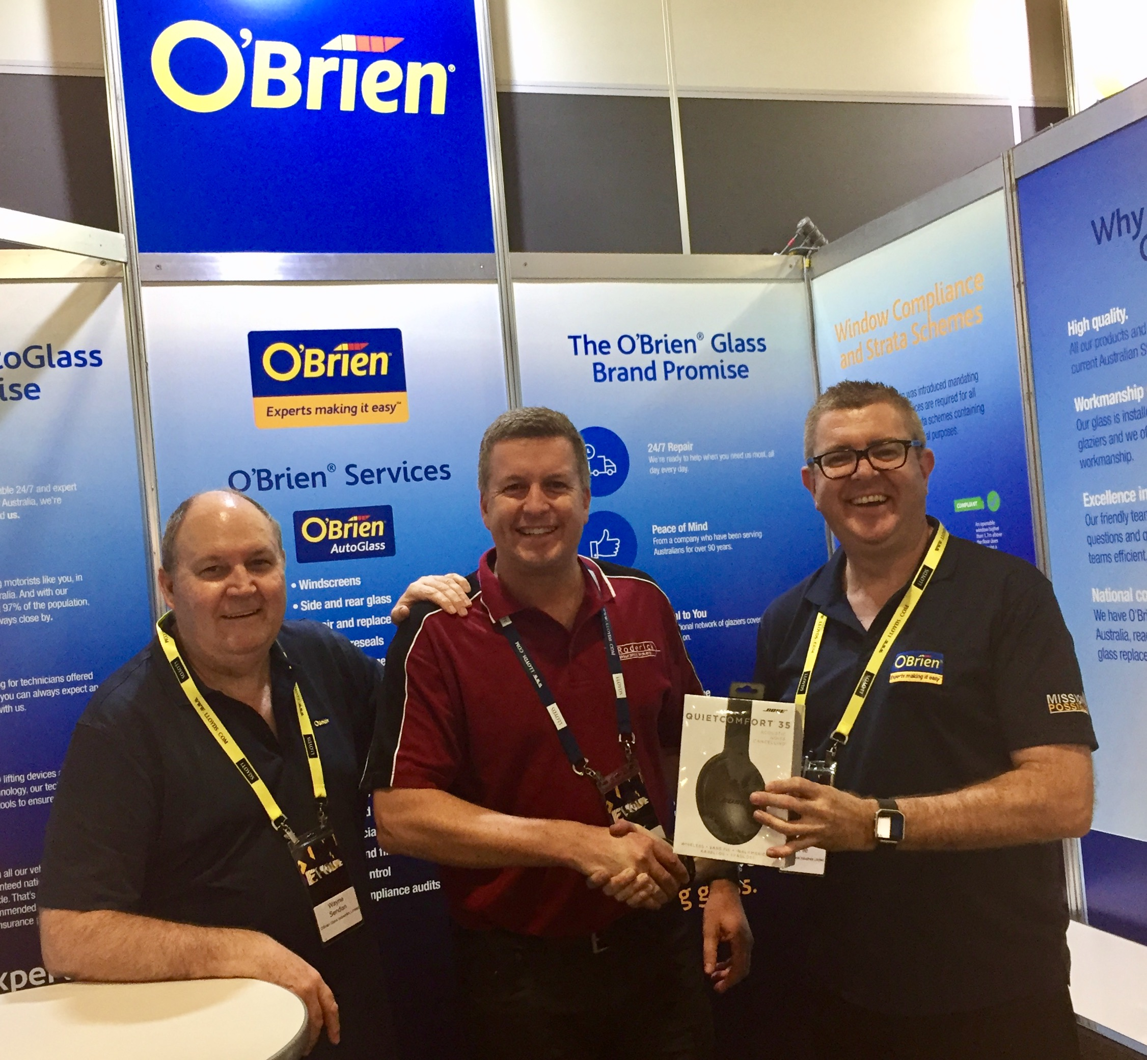 convention competition our steadfast convention competition winner o brien 174 autoglass